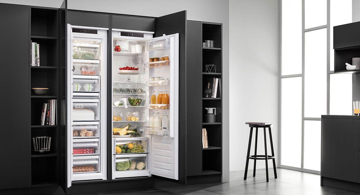 Side By Side Kühlschrank Umbaut : Kühlschrank küchenstudio stuttgart haasis küchen bad sanitär heizung